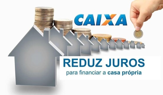 Caixa vai reduzir juros para financiamento da casa própria