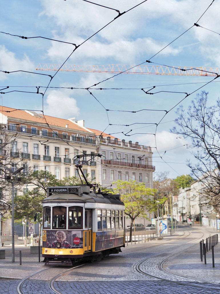 Séjour dans la ville de Lisbonne au Portugal