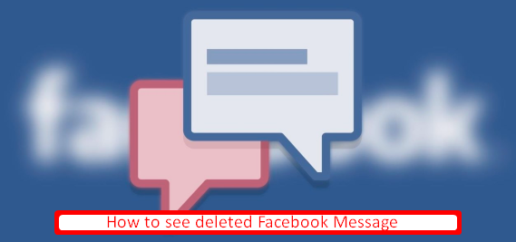 How To View Deleted Facebook Messages