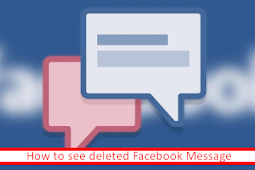 Check Out Deleted Messages On Facebook