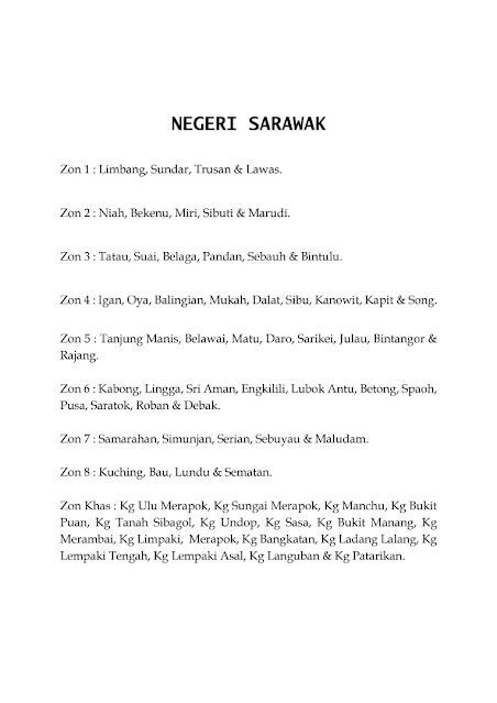 Jadual Waktu Imsak Dan Berbuka Puasa Sarawak 1442H