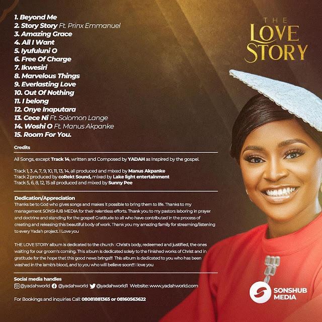 Album: Yadah – The Love Story