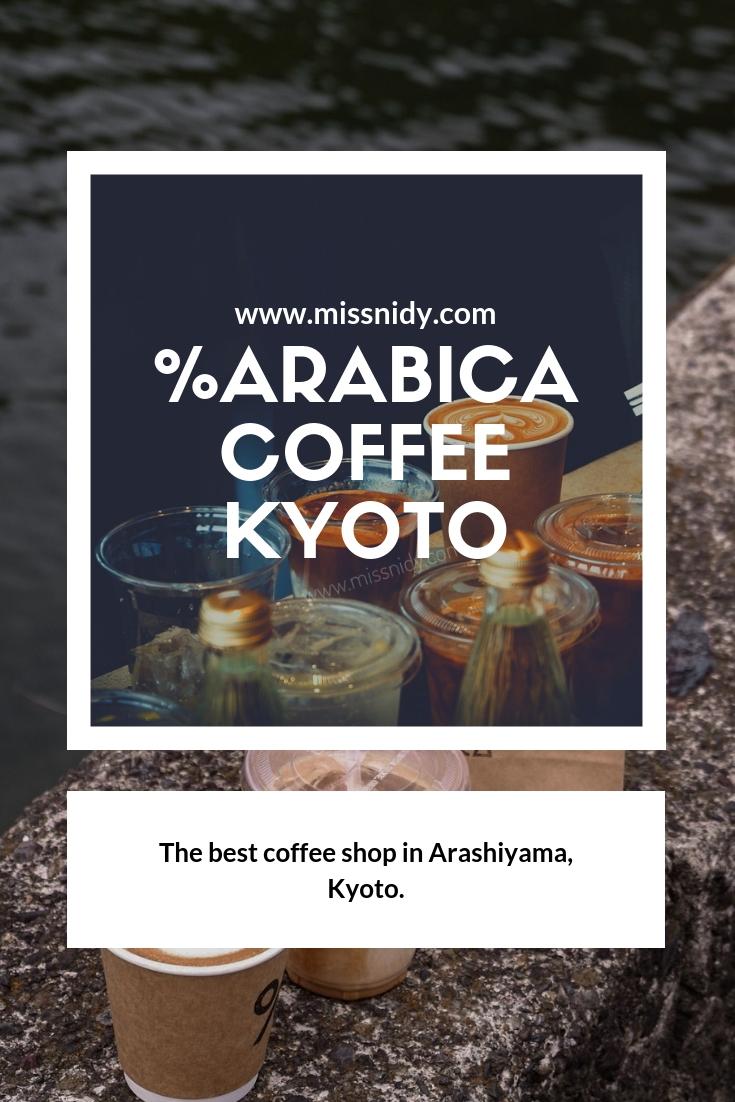%arabica coffee in arashiyama japan