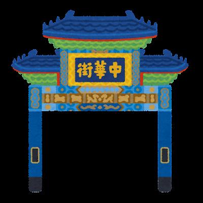 朝陽門のイラスト