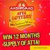 AASHIRVAAD Atta Lottery - Free 12 months supply of Atta