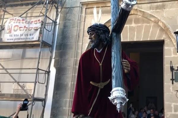 Horario e Itinerario Traslado de Tres Caídas a San Lucas. Jerez de la Frontera hoy sábado