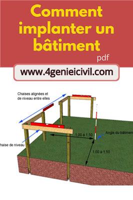 Implantation de bâtiment cours pdf