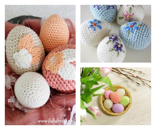 Free Easter Eggs Crochet Patterns