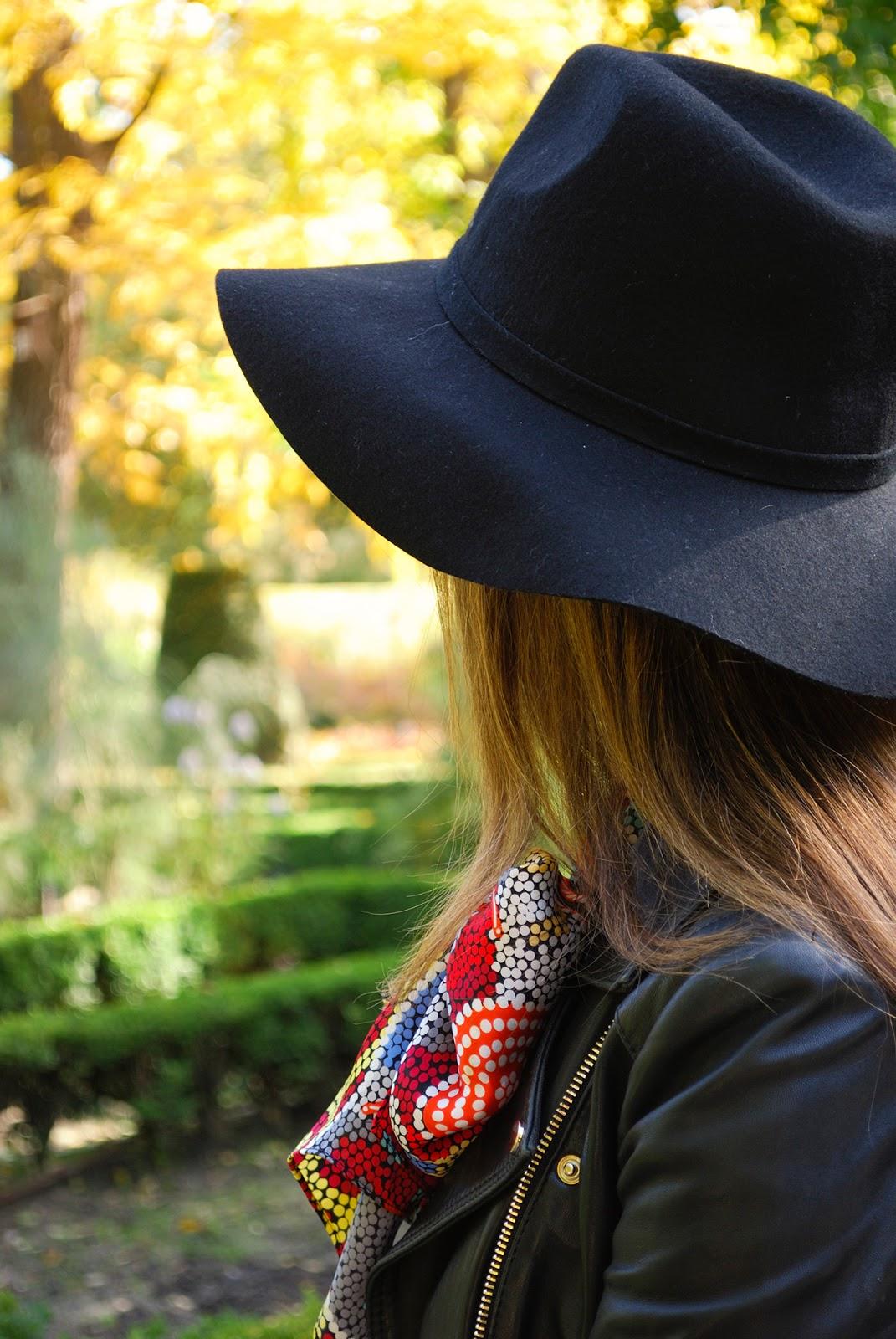 Royal Botanic Gardens fall autumn Madrid