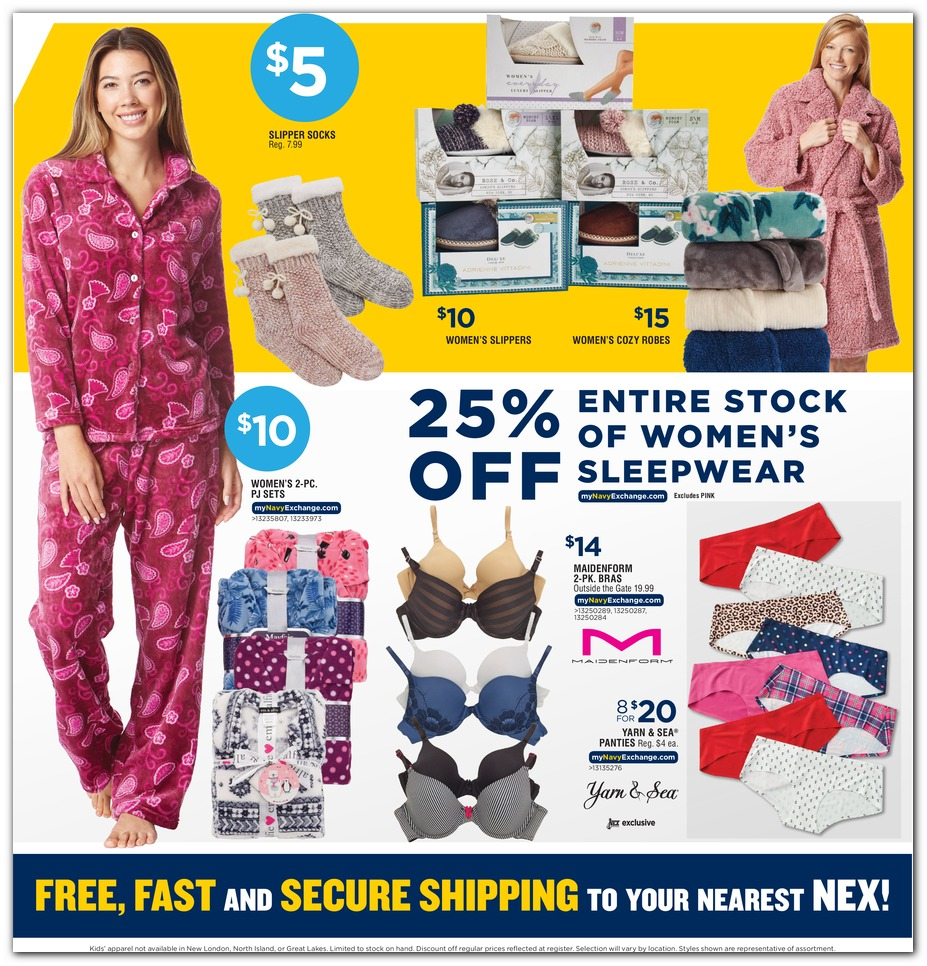 Navy Exchange Black Friday 2019 page 50