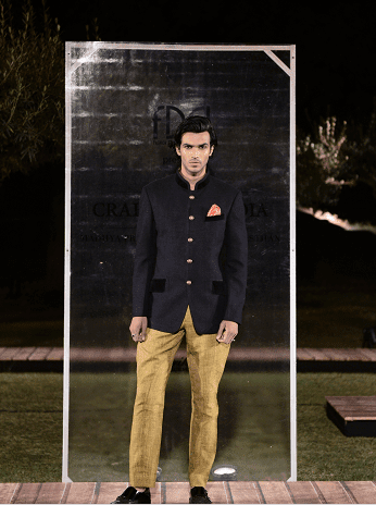 Rohit Kamra at FDCI presents Crafted in India, representing Rajasthan