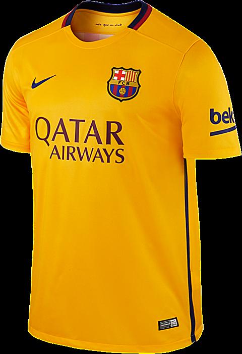 O terceiro uniforme é azul turquesa com detalhes pretos em degradê nas  mangas e nas laterais do uniforme. Compre camisas do Barcelona ... f245103c34802