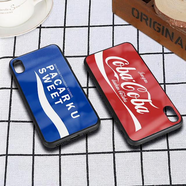 Mockup Glass Case Iphone XR