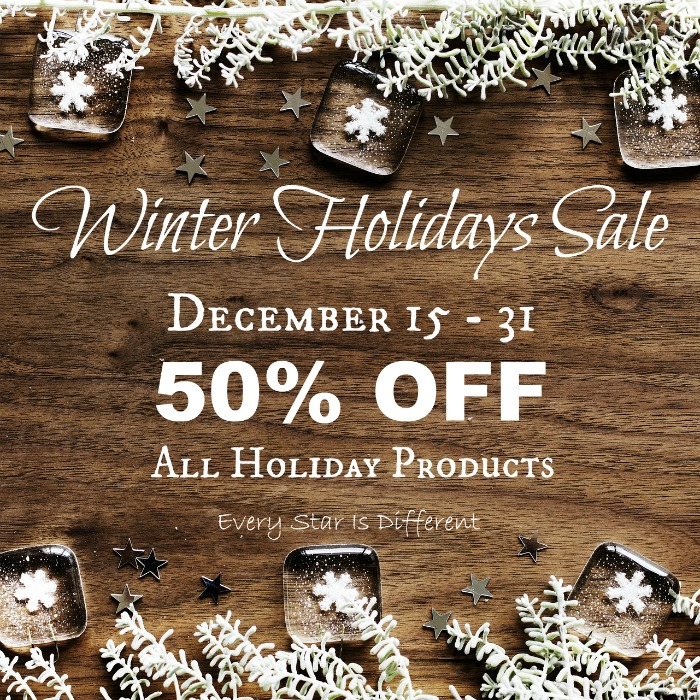 Winter Holidays Sale