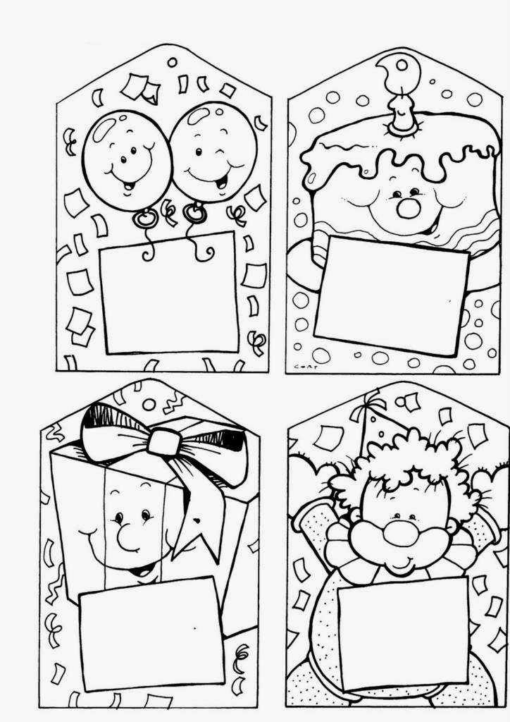 Educaci n infantil en el colegio postales de navidad para - Dibujos para pintar navidad ...