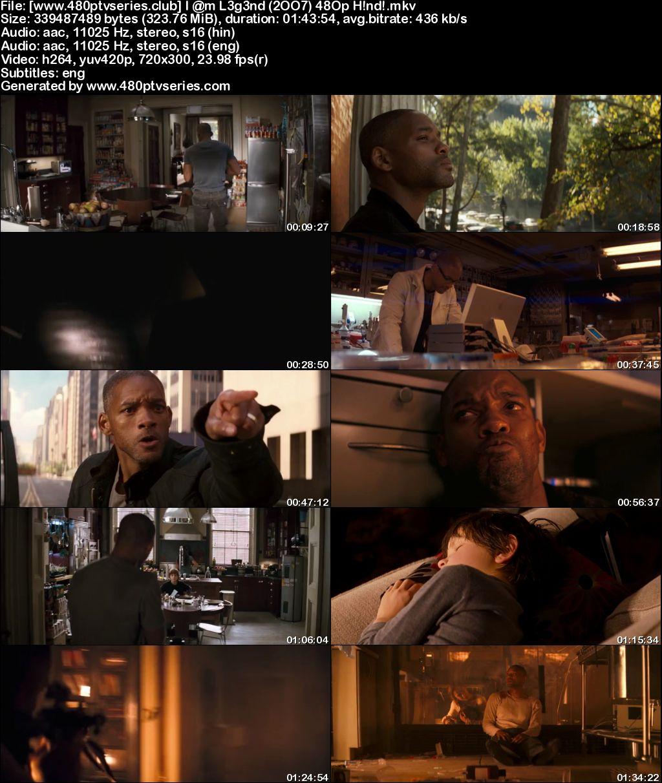 I Am Legend (2007) 300MB Full Hindi Dual Audio Movie Download 480p Bluray Free Watch Online Full Movie Download Worldfree4u 9xmovies