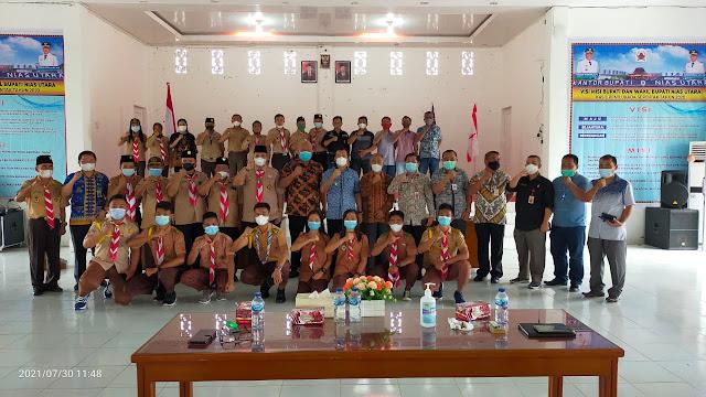 Yusman Zega Terpilih Sebagai Ketua Kwartir Cabang GP Nisut Masa Jabatan 2021–2026,