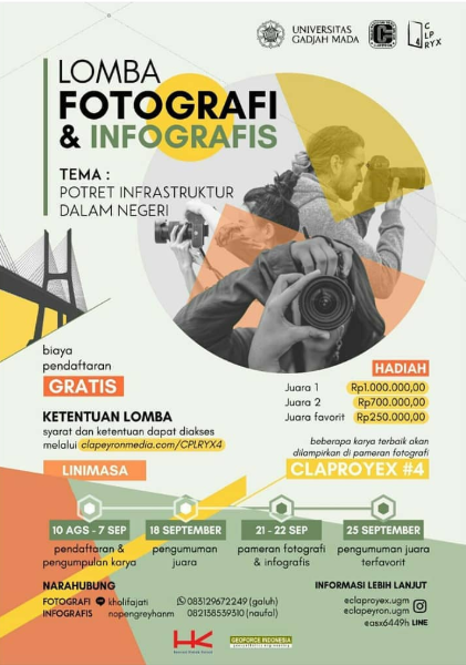 Lomba Fotografi & Infografis Claproyex 4 2019 Gratis Untuk Umum