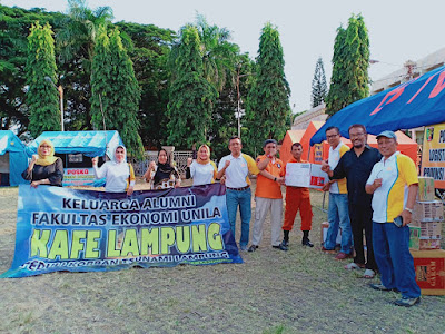 KAFE Lampung Ikut Berempati Untuk Korban Tsunami Lampung