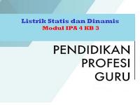 Listrik Statis dan Dinamis - Modul IPA 4 KB 3