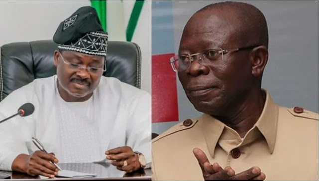 Oshiomhole Reveals His Last Moment And Interaction With Ex-Oyo Governor, Ajimobi