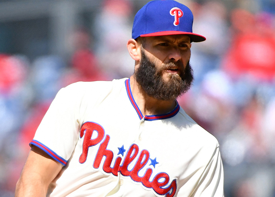 Jake Arrieta to pitch through pain for now