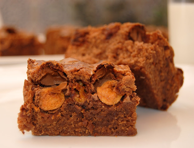 Brownies con Maltesers (Malteaser Brownies)
