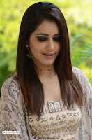 Rashi Khanna in a Tebe Top Sizzling Beauty at Tholi Prema Movie Interview ~  Exclusive 014.jpg