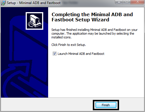 Minimal ADB dan Fastboot Finished