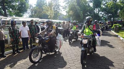 Sinergisitas TNI-Polri Banyumas Menggelar Bakti Sosial dan Pegiat UMKM