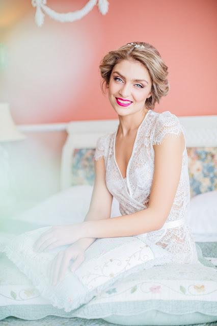 Wedding girl smile image