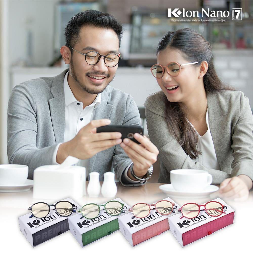 kacamata terapi k-ion nano premium 7 untuk tampilan modis travelling