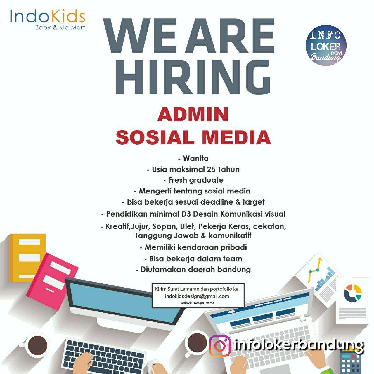 Lowongan Kerja Indokids Baby & Kid Shop Bandung Agustus 2018