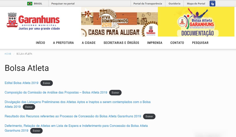 34f7b3427 BLOG DO CARLOS EUGÊNIO  Governo de Garanhuns divulga Lista de ...