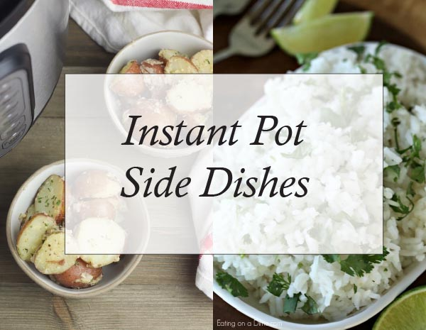 Instant Pot Side DishesjTo Try