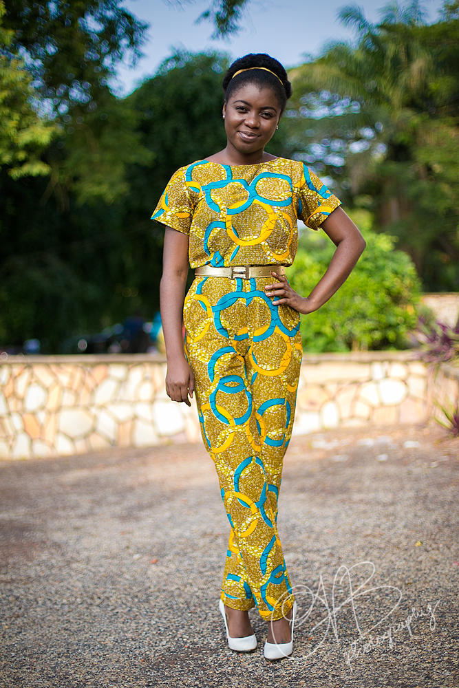 Grad Style African Print Inspired Jumpsuit Trends And