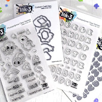 Bundle Special| Magic Dragons and Phat Alphanumeric Stamps and Dies
