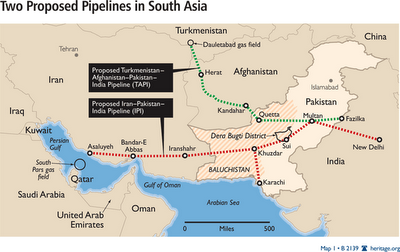 TAPI%2Band%2BIPI%2BPipelines The Wars in the Middle East and North Africa Are NOT Just About Oil ... Theyre Also About GAS