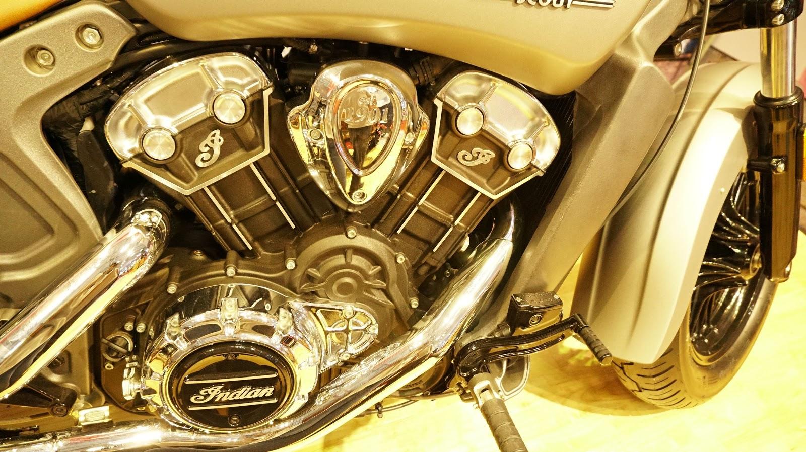Khối động cơ mạnh mẽ, sáng bóng và dung tích lên đến 1130 cc