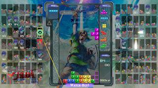 Tetris 99 Skyward Sword HD theme