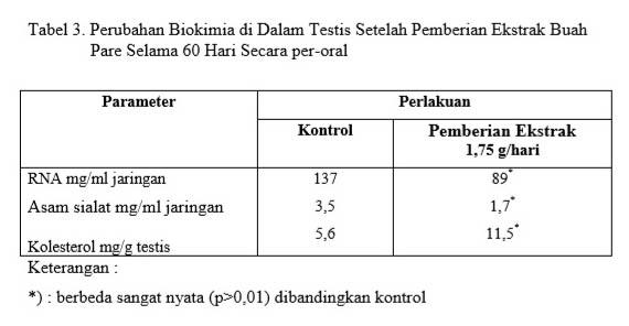 Perubaan biokimia dalam testis