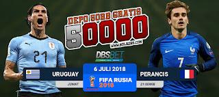 uruguay vs perancis piala dunia 6 juli 2018