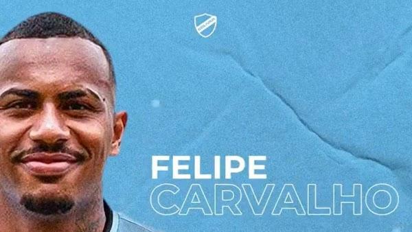 Oficial: Bolívar, firma Felipe Carvalho