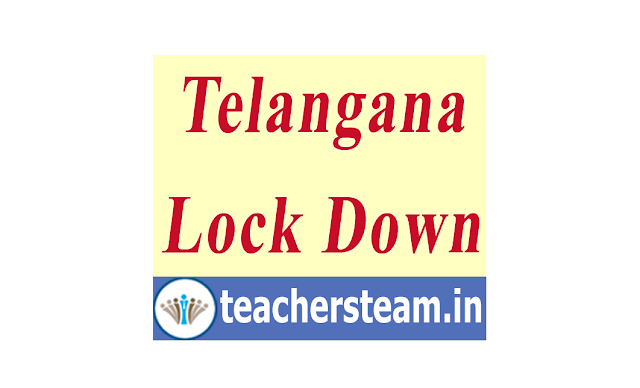Telangana State Lock Down