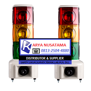 Jual MSGS 3 Lampu Lampu Siren Pabrik di Sulawesi