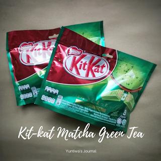 oleh oleh khas malaysia - kit kat green tea
