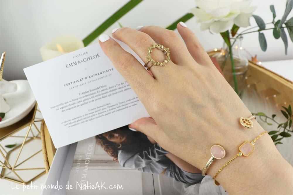 Avis sur les bijoux d'Emma & Chloé