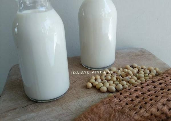 Susu Kedelai Tawar Anti Langu (Santan Kedelai)