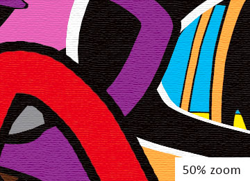 abstract art, art gallery, artist, artwork, multi coloured, buy art, canvas art, contemporary wall art, graffiti art, modern multi coloured wall art, Sam Freek, street art, wall art,