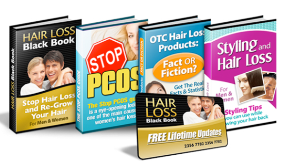 The Hair Loss Black Book Bundle-All About Hair Loss and Hair Care